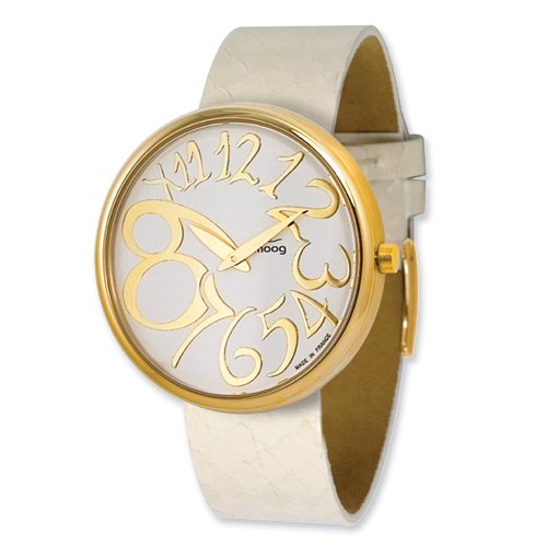 other watches gold plated white w av