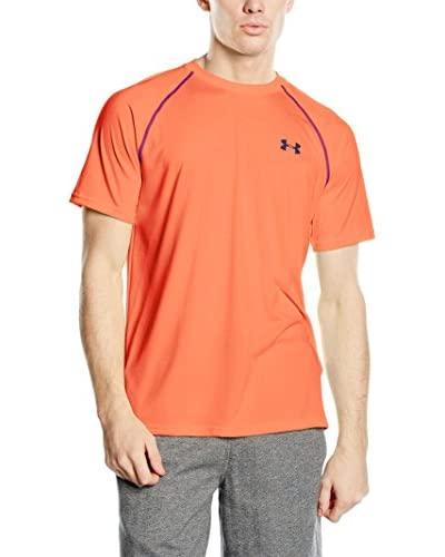 Under Armour T-Shirt Charged V-Neck orange
