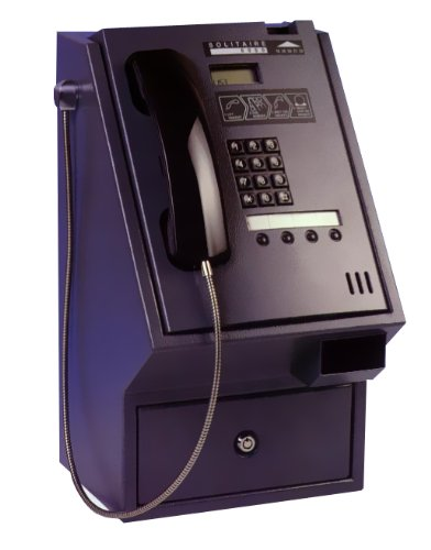 Solitaire 6000HS High Security IP Payphone - Black image