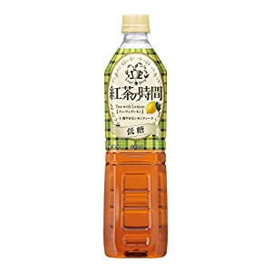 UCC 霧の紅茶 紅茶の時間 ティーウィズレモン レモンティー ダージリンブレンド 低糖 ペットボトル 930ml×12本