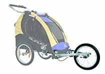 Burley Double Jogger Kit Aluminum, One Size