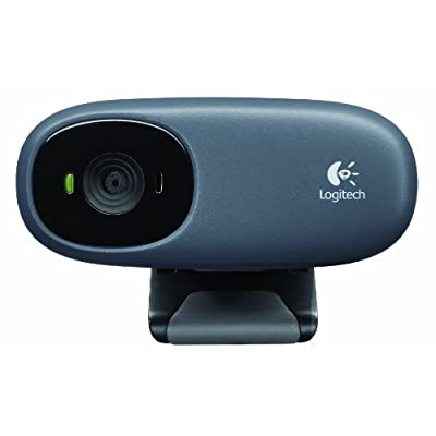 Logitech C110 Webcam (Grey)