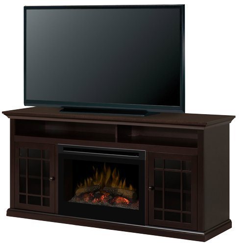 Dimplex Hazelwood Electric Fireplace & Entertainment Center - Log Set (GDS25-1388DR) image B00EW72QBI.jpg