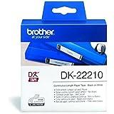 Brother DK22210 - Cinta continua de papel