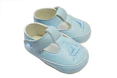eccd02922 New Boys Baby Shoes Pram Little Cutie traditional The Boat 9408 ...