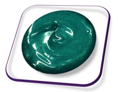 online-hut 5ml Acrylmalfarbe Pure Green Metallic