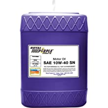 Royal Purple 05140 API-Licensed SAE 10W-40 High Performance Synthetic Motor Oil - 5 Gallon Pail