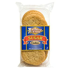 Bakery Fresh Sugar Cookie 8.9 OZ(pack of 6)