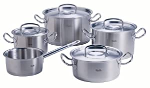 fissler original profi collection 5 piece cookware set includes. Black Bedroom Furniture Sets. Home Design Ideas