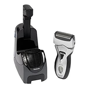Panasonic ES7109 Pro Curve Triple Blade Wet/Dry Shaver with Hydra Clean System, Silver