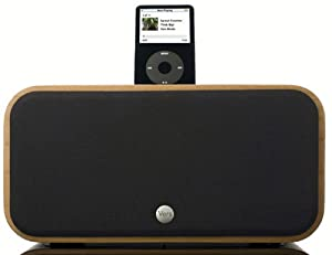 Vers 2X iPod Sound System (Cherry Wood)