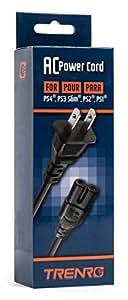 Generic Sony PlayStation 3 Slim Edition AC Power Adapter Cord Bulk