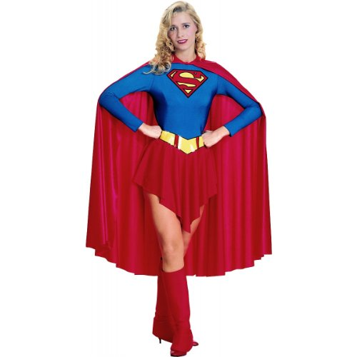 Supergirl Costume - Large - Dress Size 14-16