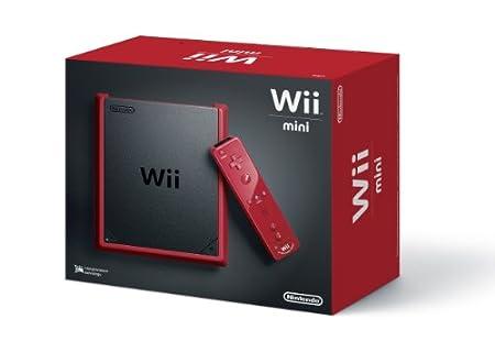Nintendo Wii Mini Console - Red