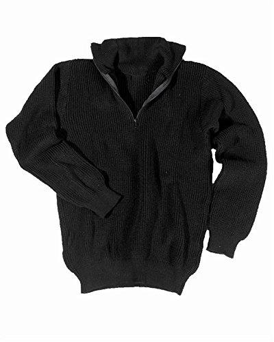 Mil-Tec-Marine-Pullover-Troyer-schwarz-GR54