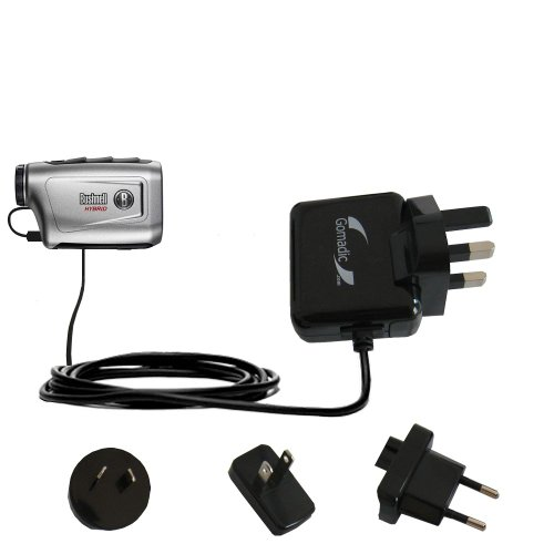 Gomadic Global Home Wall Ac Charger Designed For The Bushnell Hybrid Laser Gps With Power Sleep Technology - Supports Worldwide Wall Outlets And Voltage Levels - Designed With Gomadic Tipexchange