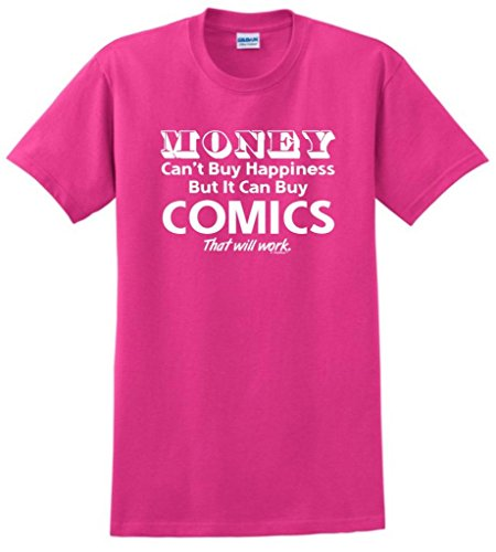 Money Can'T Buy Happiness But It Can Buy Video Games T-Shirt Small Heliconia