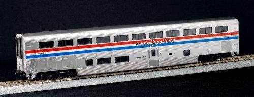Kato HO Scale Superliner Sleeper Car Amtrak Phase III - with Decal Sheets KA-35-6082