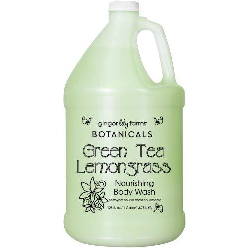 ginger-lily-farms-botanicals-body-wash-gallon-green-tea-and-lemongrass-128-fluid-ounce