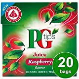 PG tips Raspberry Green Tea 20s Pyramid Teabags20 per pack