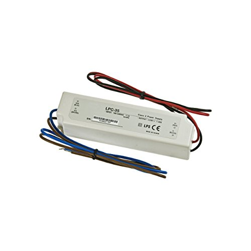 Mw Mean Well Lpv-35-15 Led Driver 36W 15V Ip67 Power Supply Waterproof