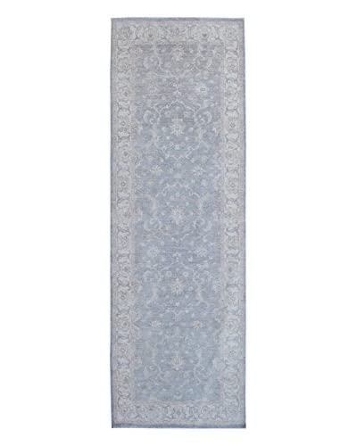 "Kalaty One-of-a-Kind Pak Rug, Grey, 4' x 11' 9"""