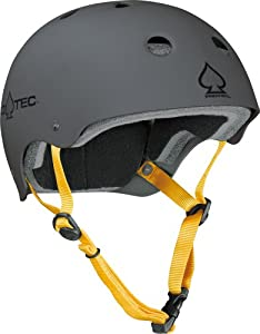 Protec Adult Helmet (Matte Charcoal, Medium)
