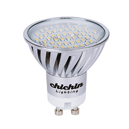 Chichinlighting® Warm White Led Gu10 5W 300 Lumens Powered By Epistar 3014 Smd Led Chips Wide Lighting Angle Led Recessed Light Bulbs Gu10 Reflector