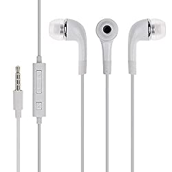 AllExtreme Headphones WIth Mic, Earphones, Handsfree Headset With Deep Bass And Music Equalizer (White)