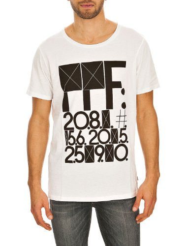 Jeans Bruce PTD Tee SS09 White FFF Cheap Monday XS Men's