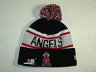 New Era MLB Los Angeles Angels 3Tone Black/Red/White Beanie -A2052