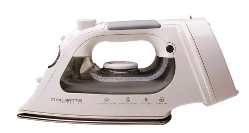 Rowenta DW1070 Cord Reel Steam Iron Stainless Steel Soleplate with Auto-Off, 1500-Watt, Brown (Rowenta Effective Comfort Iron compare prices)