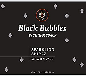 NV Shingleback Black Bubbles Sparkling Shiraz, McLaren Vale, Australia 750 mL