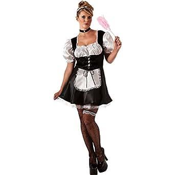 Amazon.com: French Maid Plus Size Costume - Plus Size ...