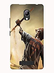 TREECASE Designer Printed Soft Silicone Back Case Cover For Reliance Jio Lyf Wind 3