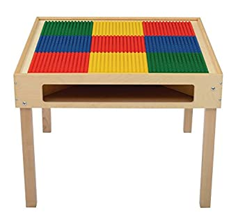 Bird In Hand 249480 Large Grid Preschool Top Activity Table Square