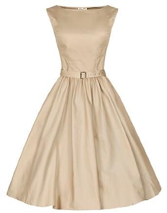 967b0c4b7e7 Lindy Bop  Audrey  Hepburn Style Vintage 1950 s Pastel Rockabilly Swing  Dress