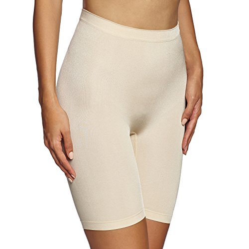 Maidenform Flexees Women's Shapewear Seamless Thigh Slimmer, Latte Lift, Large