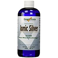 Liquid Ionic Minerals Silver (96 Days At 100mcg.)