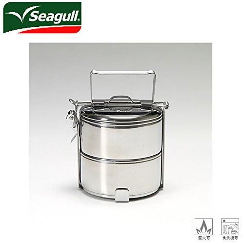 (シーガル)seagull ランチボックス フードキャリア 弁当箱 ステンレス 10×2 seagl-002
