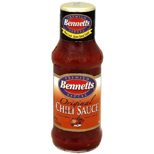 Bennetts Chili Sauce 12 fl oz (Pack of 6)