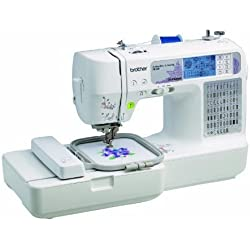 Brother SE400 Combination Computerized Sewing and 4x4 Embroidery Machine With