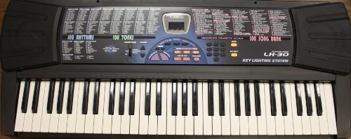 Casio Lk-30 Note Lighted Keyboard