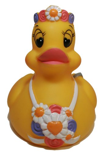 Rubber Ducks Family Bride Rubber Duck, Waddlers Brand Party Supplies Wedding Gift Bride Rubber Duck That Squeaks, Toy Bathtub Wedding Car Wedding Cake Decor Rubber Ducky Gift front-529407