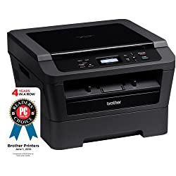 Brother Printer Wireless Monochrome Printer, Dark Grey (HL2280DW)