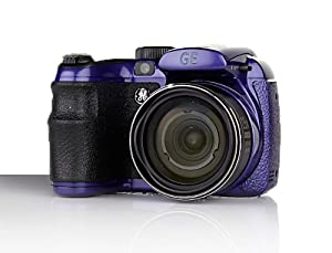 "GE 16MP Bridge Digital Camera 15X 2.7"" LCD (Berry Purple)"