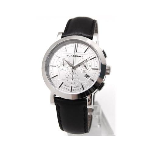 [BURBERRY]バーバリー メンズ 腕時計 ヘリテージ クロノグラフ【BU1361】シルバー[並行輸入品]