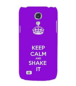 EPICCASE Shake it Mobile Back Case Cover For Samsung Galaxy S4 Mini (Designer Case)
