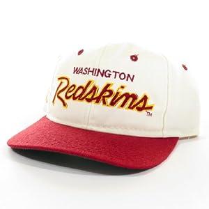 Buy Washington Redskins  Sports Specialties  Script  NFL  Vintage Deadstock  Snapback Hat  Cap by Vintage