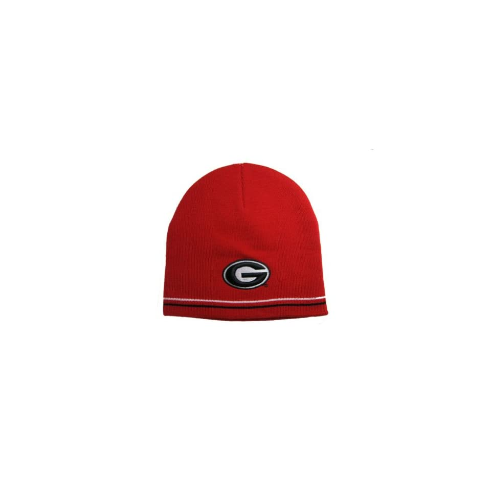 a5f340b9436 Georgia Bulldogs Knitted Winter Beanie Cap Hat Sports on PopScreen